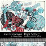 High Anxiety Add On Embellishment Pack-$3.49 (Jumpstart Designs)