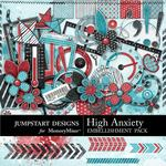 High Anxiety Embellishment Pack-$3.49 (Jumpstart Designs)