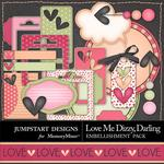 Love Me Dizzy Darling Spare Parts Pack-$3.99 (Jumpstart Designs)
