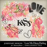 Love Me Dizzy Darling Splatters Pack-$1.49 (Jumpstart Designs)