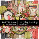 Everyday Blessings Combo Pack-$7.99 (Fayette Designs)