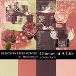 Glimpses of A Life  Add On Combo Pack-$4.99 (Laura Burger)
