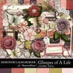 Glimpses of A Life Combo Pack-$4.99 (Laura Burger)