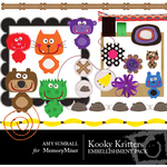 Kooky Kritters Embellishment Pack-$3.50 (Amy Sumrall)