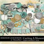 Catching a Moment Add On Embellishment Pack-$3.49 (Laura Burger)
