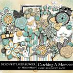 Catching a Moment Embellishment Pack-$1.75 (Laura Burger)