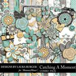 Catching A Moment Combo Pack-$3.99 (Laura Burger)