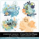 Come On Get Happy Splatters-$2.49 (Jumpstart Designs)