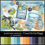 Come On Get Happy Add On Embellishment Pack-$3.49 (Jumpstart Designs)