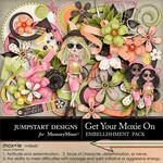 Get Your Moxie On Embellishment Pack-$3.49 (Jumpstart Designs)