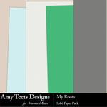 My Roots Solids Paper Pack-$1.99 (Amy Teets)