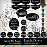 Ups and Downs DigiStamps pack-$3.99 (Fayette Designs)
