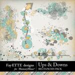 Ups and Downs Big Fancies Pack -$1.99 (Fayette Designs)