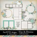 Ups and Downs Cluster Pack-$3.99 (Fayette Designs)