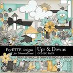 Ups and Downs Combo Pack-$7.99 (Fayette Designs)