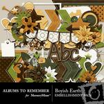 Boyish Earth Embellishment Pack-$3.49 (Albums to Remember)