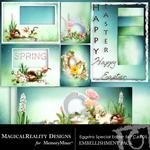 Eggstra Special Easter 5x7 Cards-$2.49 (MagicalReality Designs)