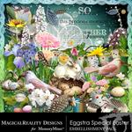 Eggstra Special Easter Embellishment Pack-$3.49 (MagicalReality Designs)