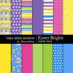 Easter Brights Paper Pack-$2.10 (Tara Reed Designs)