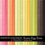 Easter Egg Zone Solids Paper Pack-$2.75 (Laura Burger)