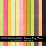 Easter Egg Zone Embossed Paper Pack-$3.49 (Laura Burger)