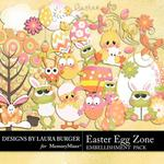 Easter Egg Zone Embellishment Pack-$2.45 (Laura Burger)