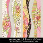 A Bloom of Color Borders-$1.40 (Lindsay Jane)