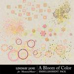 A Bloom of Color Scatterz-$1.40 (Lindsay Jane)