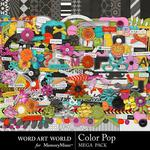 Color Pop Mega Pack-$5.60 (Word Art World)
