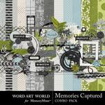 Memories Captured Combo Pack-$4.00 (Word Art World)