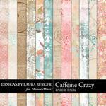 Caffeine Crazy Shabby Paper Pack-$3.49 (Laura Burger)