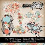Pardon My Bloopers Big Fancies Pack-$1.40 (Fayette Designs)