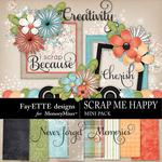 Scrap Me Happy Mini Kit -$4.99 (Fayette Designs)
