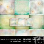 Peaceful Easter Paper Pack 1-$3.99 (MagicalReality Designs)