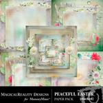 Peaceful Easter Stacked Paper Pack-$3.99 (MagicalReality Designs)