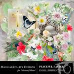 Peaceful Easter Embellishment Pack-$3.49 (MagicalReality Designs)