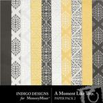 A Moment Like This Paper Pack 2-$2.99 (Indigo Designs)