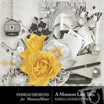 A Moment Like This Embellishment Pack-$2.10 (Indigo Designs)