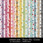 Project Pix Circle Paper Pack-$1.75 (Lindsay Jane)