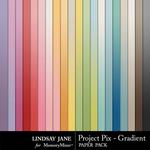 Project Pix Gradient Paper Pack-$1.75 (Lindsay Jane)
