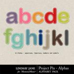 Project Pix Alpha Pack-$4.50 (Lindsay Jane)