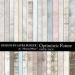 Optimistic Future Paper Pack-$3.49 (Laura Burger)