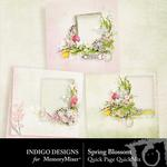 Spring Blossom ID Quick Pages-$3.49 (Indigo Designs)