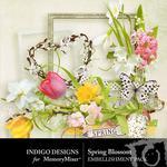 Spring Blossom ID Embellishment Pack-$2.99 (Indigo Designs)