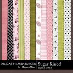 Sugar Kissed Patterned Paper Pack-$3.49 (Laura Burger)