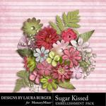 Sugar Kissed Flowers-$2.49 (Laura Burger)