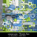 Tennis Ace Combo Pack-$3.49 (Lindsay Jane)