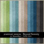 Beyond Serenity Plain Paper Pack-$3.49 (Jumpstart Designs)