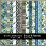 Beyond Serenity Pattern Paper Pack-$3.49 (Jumpstart Designs)