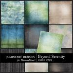 Beyond Serenity Blends Paper Pack-$3.49 (Jumpstart Designs)